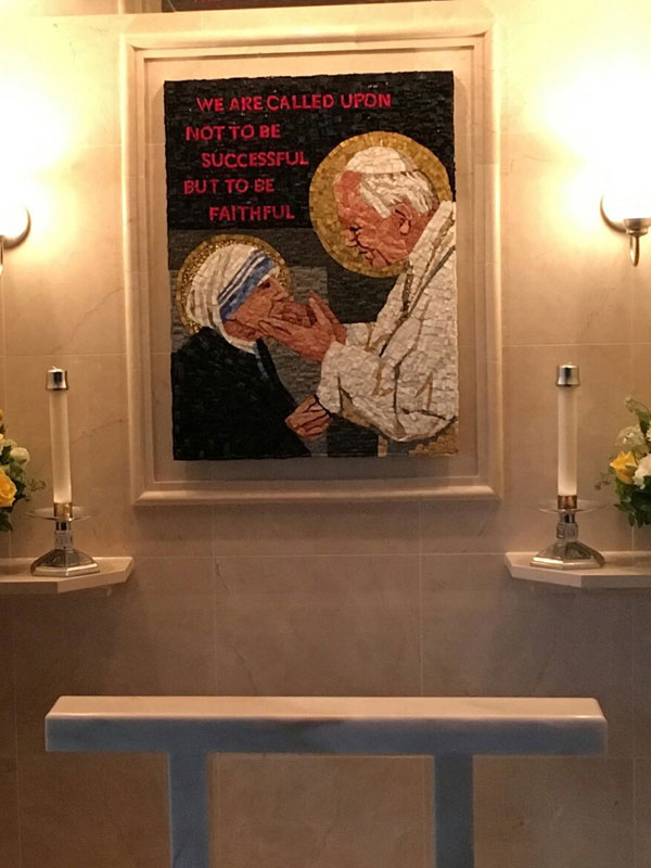 St. Bede Church — Sts. John Paul II And Teresa Of Calcutta Shrine